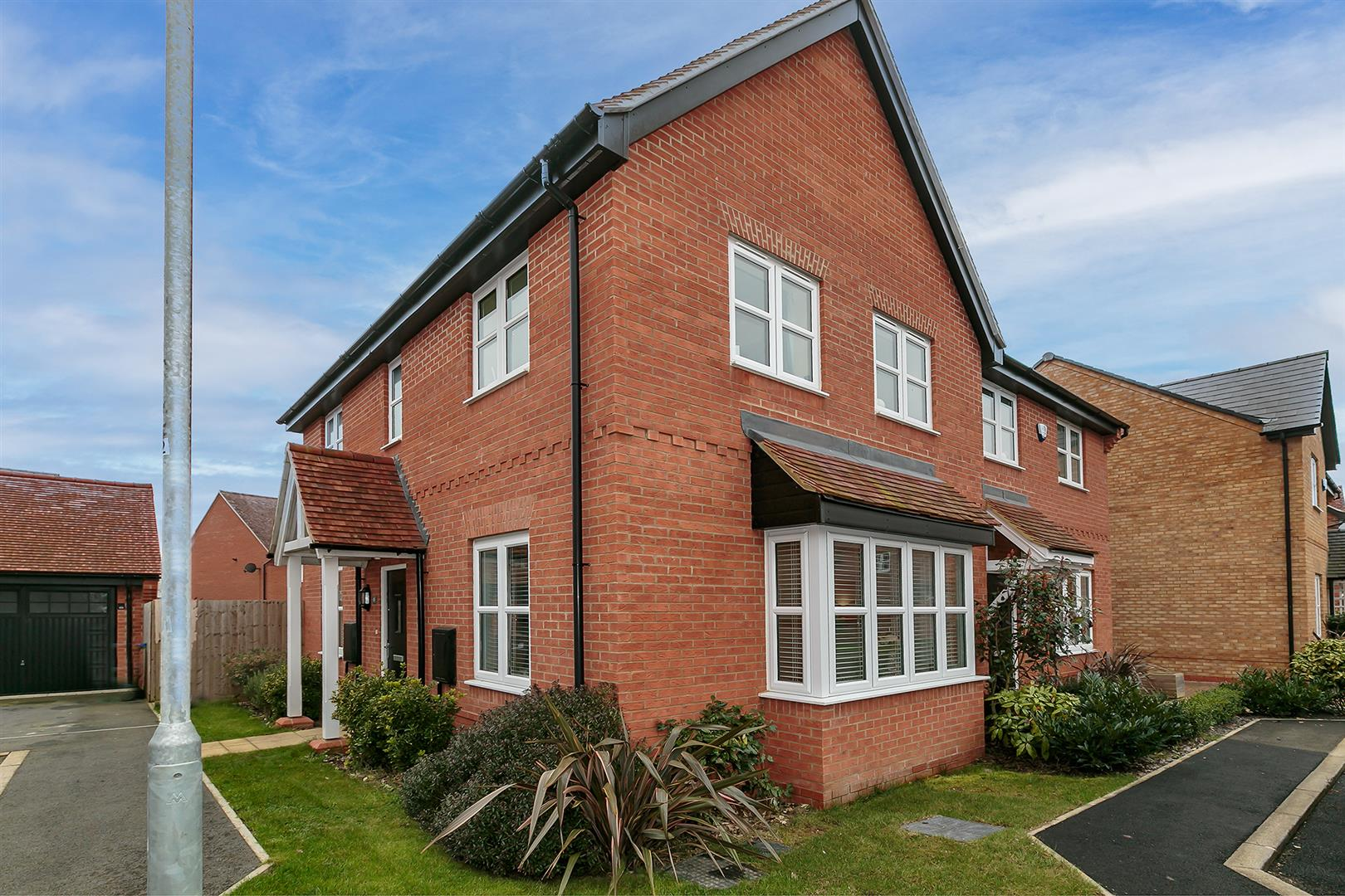 EXCELLENT 3 BEDROOM SEMI DETACHED HOUSE. This fantastic home is presented in immaculate condition throughout and is situated at the top of a cul-de-sac. The property briefly comprises: entrance hall, cloakroom, bright lounge, and well appointed kitchen/d